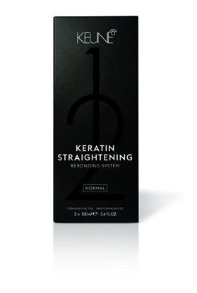 Billede af Keune Keratin Straightening Pack Normal 2x100 ml.