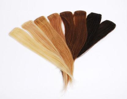 Billede af Easy-hair mørkbrun 25 cm