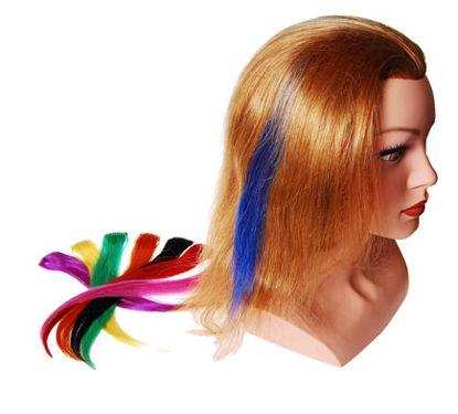 Billede af Easy-hair Color 1 clips 25 cm. Blå