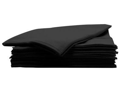 Billede af Håndklæde engangs BIO 100% viskose 80x40 cm. 50 stk. farve sort