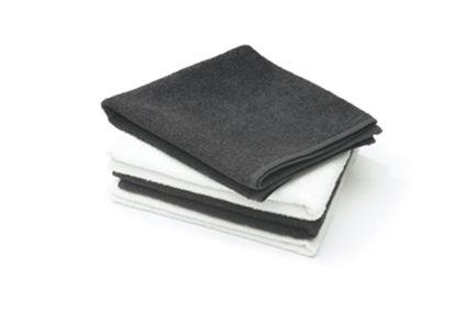 Billede af Håndklæde Invincible cotton SORT 50 x 80 cm.