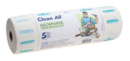 Billede af Halskrave papir Clean All 5 ruller 1 stang