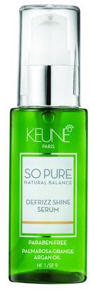 Billede af So Pure Defrizz Shine Serum 50 ml.