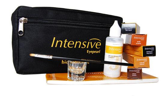 Billede af Intensive Eyepearl Cosmeticbag med 5 tuber + tilbehør