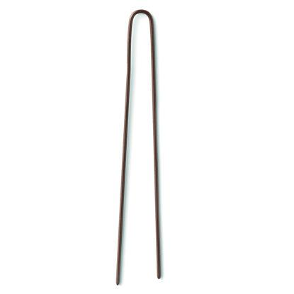 Billede af Hårnåle brun 5,5 cm tynd 20 stk.