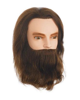 Billede af Øvehoved Herre Karl m/skæg Længde 25 cm.