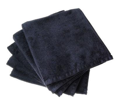 Billede af Håndklæde Hairtech ANTI BAKTERIEL Nano Beauty-Tex SORT  Micro-fibre 40x90 cm.
