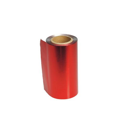 Billede af Folie rød 12 cm 480 gram 100 mtr.