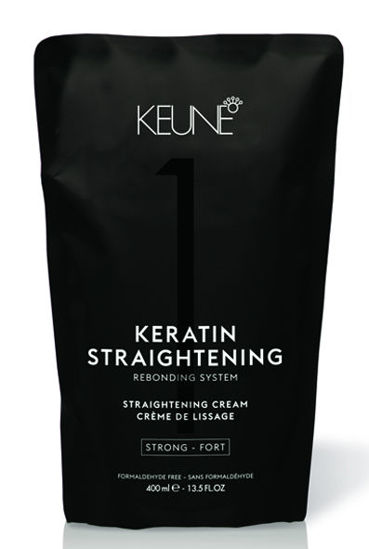 Billede af Keune Keratin Straightening Cream Strong 400 ml.